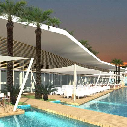 Nova Proposta per a Centre Turístic amb parc aquàtic a Filfila, Skikda. Algèria Centre Turístic Skikda