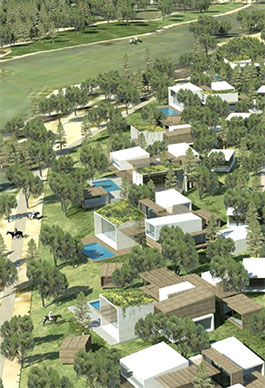 Residential Area 2.Mexico