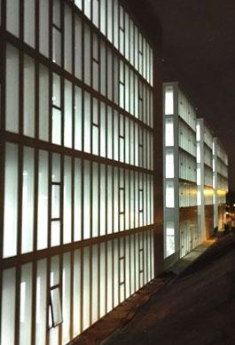 Facultad Derecho UB.Iluminación.