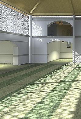 Mezquita. Calonge.