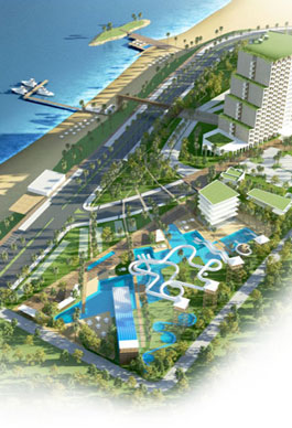 Resort and leisure complex. Argelia
