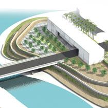 Estudi Previ per a la construcció i disseny d'un edifici d'oficines, un Pont i l'entorn Paisatgístic de la zona industrial de Skikda, Algeria.