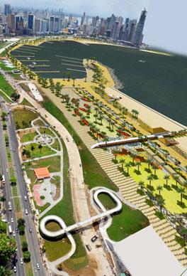 Paseo Marítimo. Panamá
