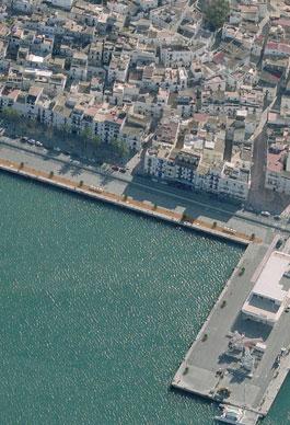 Muelle de Levante. Eivissa