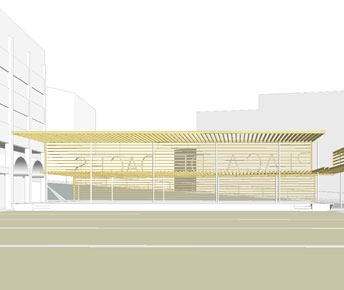Concurs. Rehabilitació del centre de La Garriga. La Garriga, Barcelona.