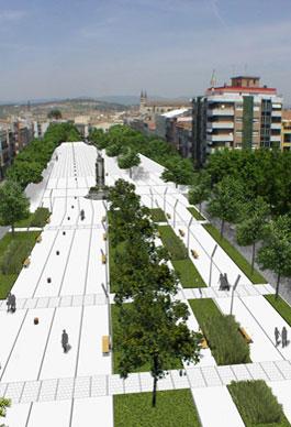 Plaça Penedès. Vilafranca