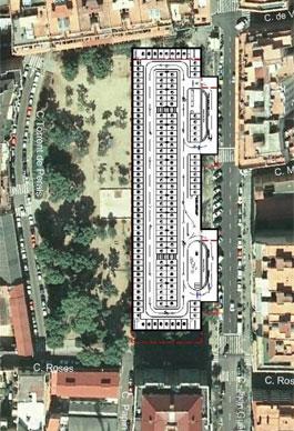 Aparcament. Sants-Montjuïc