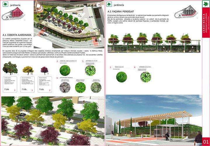 Avantprojecte de L'Edifici d'Aparcaments a la Corxera De Sant Feliu de Guíxols i Urbanització de L'Espai Públic del seu entorn. Girona, Espanya.