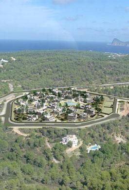 32 viviendas. Ibiza