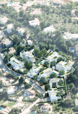 8 habitatges. Cap Martinet