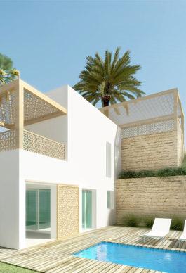 Habitatge a Boulakroud. Algeria