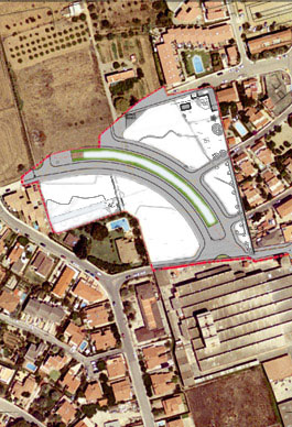 Urbanización. Torredembarra