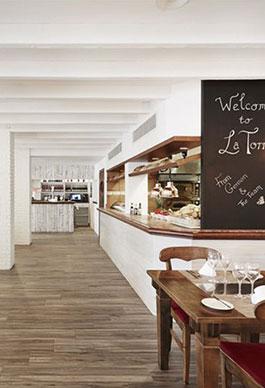 Restaurante Italiano-Obra