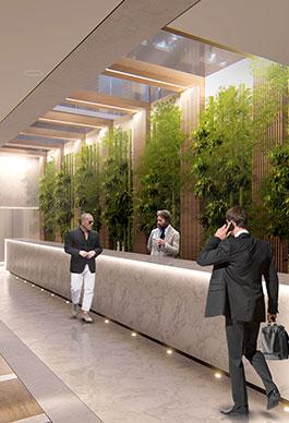 Lobby Hotel Marina Badalona
