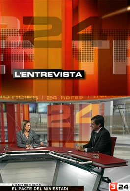 TV Debate pacto Mini Estadi